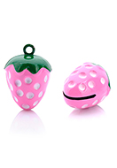 www.sayila.com - Metal pendant tinkler bell strawberry 25,5x17mm - D32565