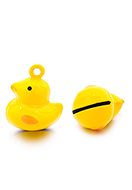 www.sayila.co.uk - Metal pendant tinkler bell duck 21x17mm - D32566