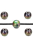 www.sayila-perles.be - Mood perle en pierre naturelle Hematite avec facettes 6,5x6mm - D32649