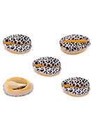 www.sayila.com - Shell beads with panther print ± 15-22x11-14mm - D32799