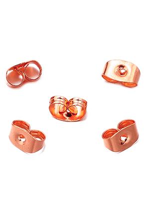 www.sayila-perlen.de - Brass Hinterstecker 6,5x4,5mm (± 55 st.)