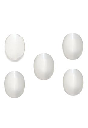 www.sayila-perlen.de - Glas Klebsteine/Cabochons cateye oval 18x13mm
