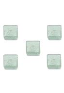 www.sayila.fr - Perles rondelle en pierre naturelle Green Aventurine carré ± 8mm - D33026