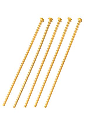 www.sayila-perlen.de - Metall Nietstifte 80mm (1mm dick) (± 15 St.)