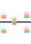 www.sayila.com - Synthetic beads cube 6mm - D33502