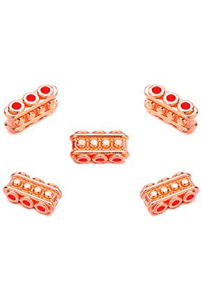 www.sayila.es - Separadores de metal con 3 agujeros 15x7,5mm