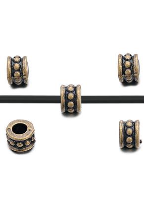 www.sayila.com - Metal beads roundel 6x4,5mm