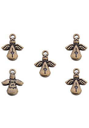 www.sayila.nl - Metalen hangers/bedels engel 17x12,5mm