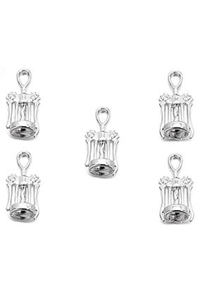 www.sayila.com - Metal pendants corkscrew 27x11mm