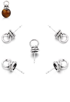 www.sayila.com - Metal pendants pin with eyelet 20x8mm