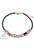 www.sayila.nl - DoubleBeads Creation sieradenpakket armband met imitatieleren koord en kunststof kralen metal look (inclusief handleiding)