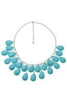 www.sayila.fr - DoubleBeads Creation kit collier de métal avec pendentifs/breloques de matière synthétique, goutte avec facettes (inclusivement mode d'emploi) - DA00017