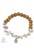 www.sayila.nl - DoubleBeads Creation Mini sieradenpakket armband met houten en Turquoise Howlite kralen