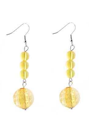 www.sayila.nl - DoubleBeads Creation Mini sieradenpakket metalen oorbellen met kunststof kralen rond