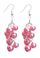 www.sayila.com - DoubleBeads Creation Mini jewelry kit metal earrings with synthetic beads - DE00131