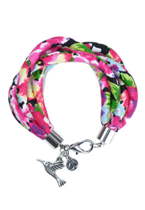 www.sayila-perlen.de - DoubleBeads Creation Mini Schmuckpaket Stoffarmband