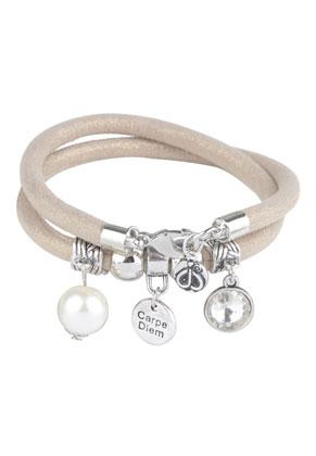 www.sayila.fr - DoubleBeads Creation Mini kit bracelet en cuir artificiel double