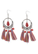 www.sayila.com - DoubleBeads Creation Mini jewelry kit earrings with tassel - DE00195