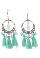 www.sayila.com - DoubleBeads Creation Mini jewelry kit earrings with tassel - DE00196