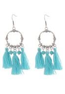 www.sayila.co.uk - DoubleBeads Creation Mini jewelry kit earrings with tassel - DE00201