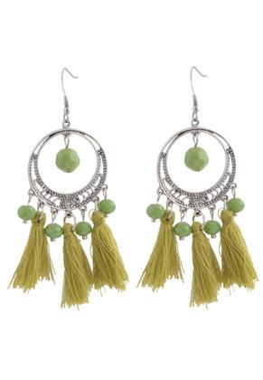 www.sayila.fr - DoubleBeads Creation Mini kit de bijoux boucles d'oreilles avec pompon