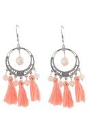 www.sayila.com - DoubleBeads Creation Mini jewelry kit earrings with tassel - DE00203