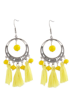 www.sayila.com - DoubleBeads Creation Mini jewelry kit earrings with tassel