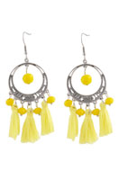 www.sayila.com - DoubleBeads Creation Mini jewelry kit earrings with tassel - DE00205
