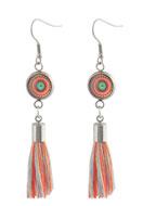 www.sayila.com - DoubleBeads Creation Mini jewelry kit earrings with tassel - DE00218