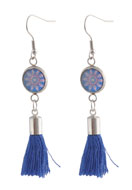 www.sayila.com - DoubleBeads Creation Mini jewelry kit earrings with tassel - DE00220
