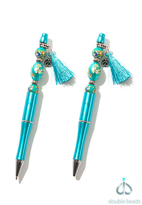 www.sayila.com - DoubleBeads Creation Mini jewelry kit beadable pen