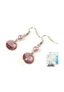 www.sayila.com - DoubleBeads Mini Jewelry Kit earrings ± 4,5cm with SWAROVSKI ELEMENTS pendants, pearls and various accessories (such as metal accessories) - DM1053