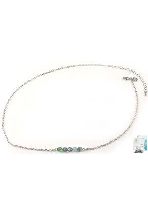 www.sayila.nl - DoubleBeads Mini Sieradenpakket halsketting ± 50-59cm met SWAROVSKI ELEMENTS kralen en diverse metalen accessoires