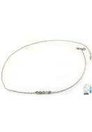 www.sayila.fr - DoubleBeads Mini Kit de Bijoux collier ± 50-59cm avec SWAROVSKI ELEMENTS perles et accessoires diverses de métal - DM1131