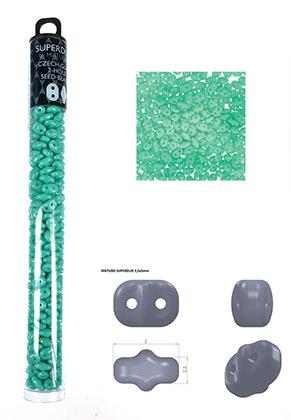 www.sayila.fr - Superduo rocailles en verre Tchèque avec 2 trous 5x2,5mm (320 pcs.)