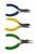 www.sayila-perlen.de - Beadsmith Mini Color Id Zangensatz mit Rundzange, Flachzange und Seitenschneider