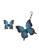 www.sayila.com - Miyuki jewelry kit brooch butterfly Papillon Motif Kit BFK-347 - E00175