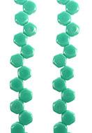 www.sayila.com - Honeycomb czech glass beads with 2 holes 6x3mm (30 pcs. per strand) - E00188