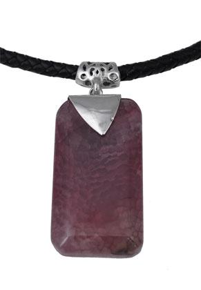 www.sayila.com - Natural stone pendant Agate 70-74mm