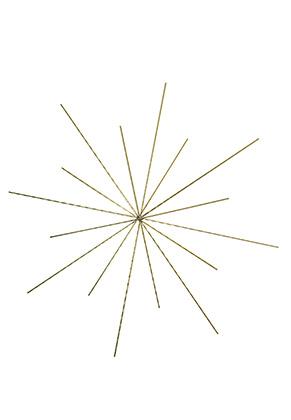 www.sayila.com - Rayher beadable wire star/snowflake 15cm