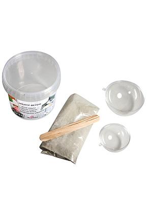 www.sayila-perlen.de - Rayher DIY Beton-Set um ein Dekoschale aus Beton zu machen