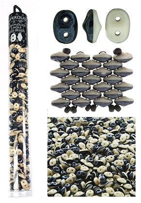 www.sayila.nl - Superduo Duets Tsjechische glas rocailles met 2 gaten 5x2,5mm (320 st.)