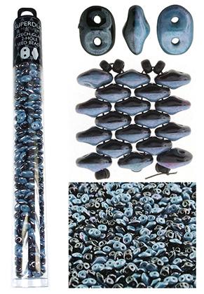 www.sayila.es - Superduo Duets rocallas de vidrio Checa 2 huecos 5x2,5mm (320 pzs.)