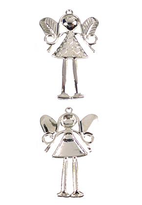 www.sayila.com - Metal pendant angel 81x53mm