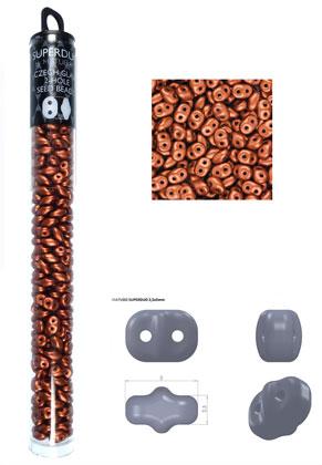www.sayila.nl - Superduo Tsjechische glas rocailles met 2 gaten 5x2,5mm (320 st.)