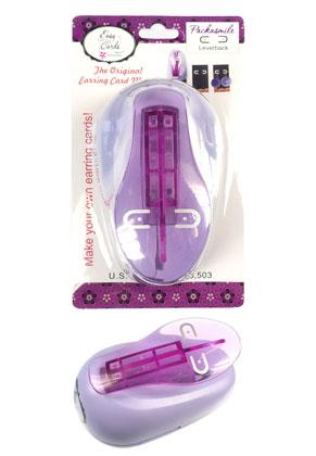 www.sayila.nl - Beadsmith easy earring leverback punch voor het maken van oorbellenkaartjes