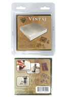 www.sayila.com - Vintaj bench block 10x10x1,25cm - E00484