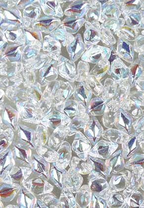 www.sayila.com - Gemduo Czech glass beads with 2 holes 8x5mm (± 55 st.)