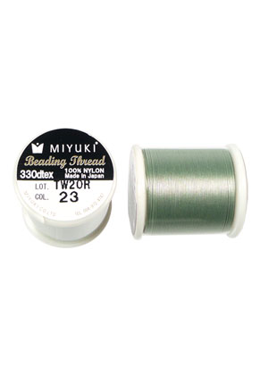 www.sayila.nl - Miyuki Beading Thread/ nylondraad MNT-23, 330dtex 0,2mm (50m per rol)