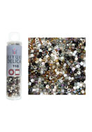 www.sayila-perlen.de - Mix Miyuki Delica Glas rocailles 11/0 1,6x1,3mm (± 1400 St.) - E00650